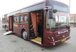 اختصاص اتوبوس ویژه به جامعه جانبازان و معلولان