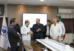 رونمایی از داروی دامی بومی سازی شده جدید با حضور مدیرکل دامپزشکی استان