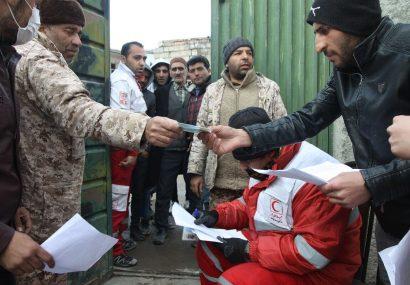ارسال اقلام ضروری از آذربایجانشرقی به مناطق زلزله زده آذربایجانغربی