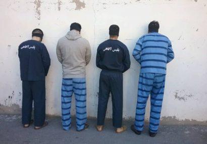 ۵ سارق حرفهای در مرند و تبریز دستگیر شدند