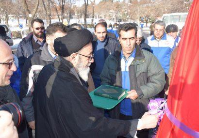 نصب سردیس سردار سلیمانی برای اوّلین بار در کشور