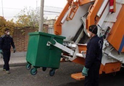 خدمات ویژه سازمان پسماند تبریز به خانوادههای دارای بیمار کرونا