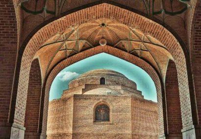 تداوم مرمت مسجد کبود تبریز با هدف احیای مجموعه مظفریه