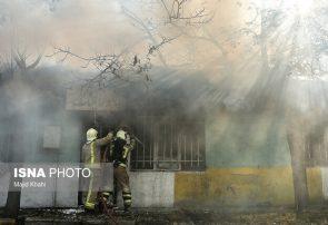 وقوع دو حادثه آتش سوزی در تبریز