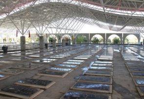 """پروژه """"مسقف سازی گلزار شهدای تبریز"""" در مراحل پایانی"""