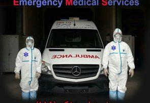 ارائه خدمات ۸ تیم ویژه اورژانس به بیماران مشکوک و مبتلا به کرونا در تبریز