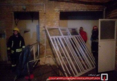 انفجار گاز شهری در منزل مسکونی در تبریز ۴ مصدوم برجای گذاشت