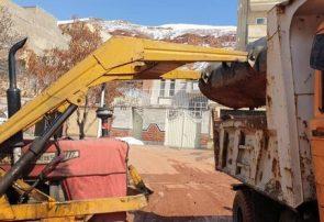 پاکسازی و لایروبی خیابان شهید ولی پور باغمیشه