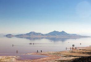تراز دریاچه ارومیه ۶۱ سانتی متر افزایش یافت