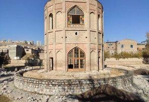 برج خلعتپوشان تبریز همچنان در انتظار اتمام مرمت