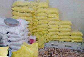 ۱۰۰ تن آرد قاچاق در تبریز کشف شد