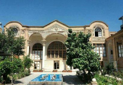 مرمت و ساماندهی «خانه تاریخی علوی» تبریز