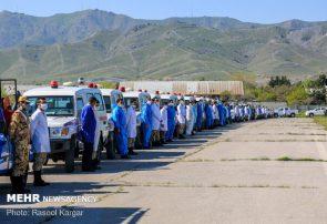 رژه خدمت نیروهای ارتش در تبریز برگزار شد