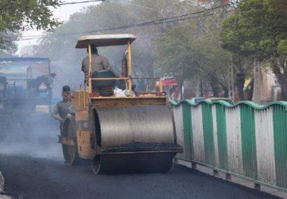استفاده از روشهای جدید آسفالت در مسیرهای بیآرتی تبریز نتایج موثری داشت