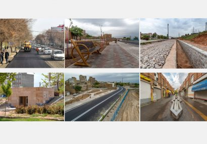 افتتاح ۱۰ پروژه عمرانی با اعتبار ۴۴۰میلیارد ریال در سطح منطقه ۴