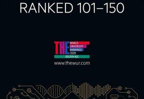 دانشگاه تبریز در رتبه ۱۰۱ الی ۱۵۰ قرار گرفت