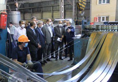 هدفگذاری صادرات یک میلیارد دلاری فولاد آذربایجانشرقی در سال جهش تولید