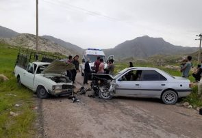 سانحه رانندگی در محور خواجه-ورزقان ۸ مصدوم برجای گذاشت