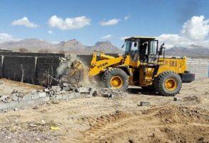 اجرای حکم قلع و قمع ۲۲ بنای غیرمجاز در اراضی کشاورزی تبریز