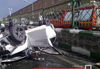 حادثه رانندگی در تبریز ۳ کشته و ۶ مصدوم برجای گذاشت/ یکی از مصدومان افشین آذری است