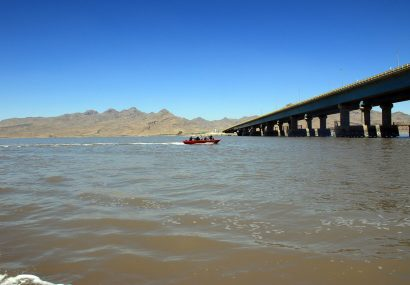 تراز دریاچه ارومیه ۱۰سانتیمتر کاهش یافت