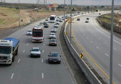 ثبت بیش از۷۴میلیون تردد خودرو در جاده های استان آذربایجان شرقی