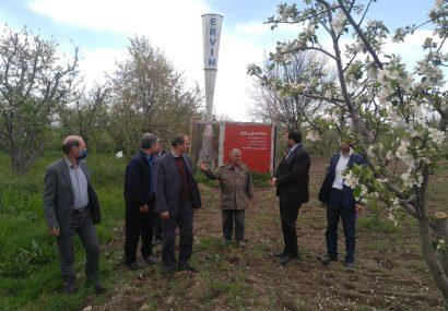 ۲ سامانه ضدتگرگ در اراضی کشاورزی هشترود نصب شد