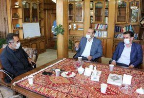 دیدار مدیرکل دامپزشکی استان آذربایجان شرقی با فرماندار شهرستان اهر