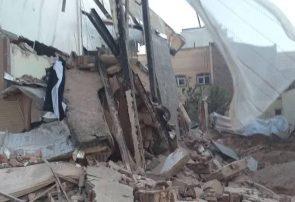 گودبرداری غیر اصولی در کوی سهند تبریز موجب ریزش ساختمان مجاور شد