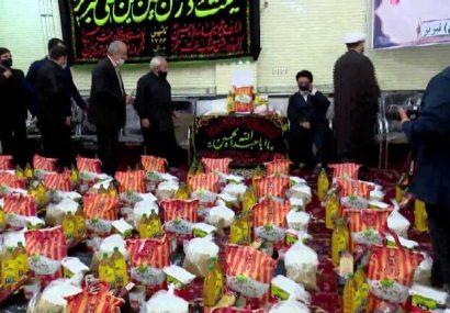 توزیع یکهزار و ۱۳۵بسته معیشتی در تبریز