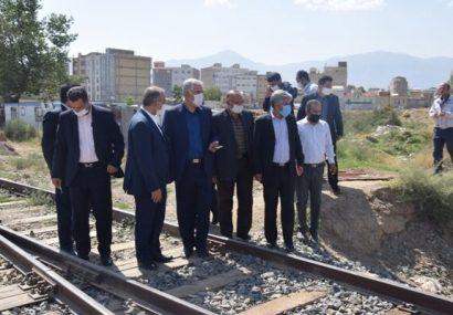 زیرگذر ریلی دولتآباد شهرستان مرند تا سه ماه آینده تکمیل میشود