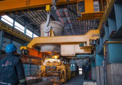 خط تولید شمش فولاد ارس افتتاح شد