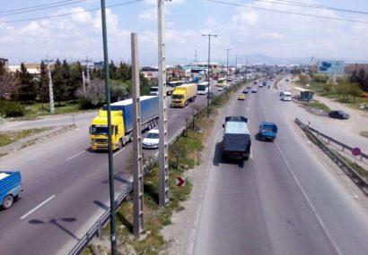 کاهش ۱۹ درصدی تردد خودرو در محورهای آذربایجان شرقی