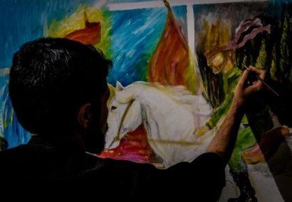 سوگواره مجازی هنرهای تجسمی «۷۲ بغض بوم» تمدید شد