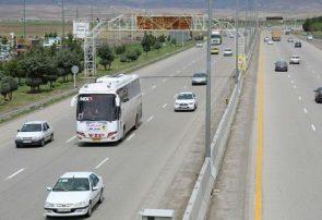 کاهش ۲۰ درصدی تردد خودروها در جادههای آذربایجانشرقی