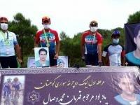قهرمانی رکاب زن تبریزی در اولین مرحله مسابقات لیگ دوچرخه سواری کوهستان کشور