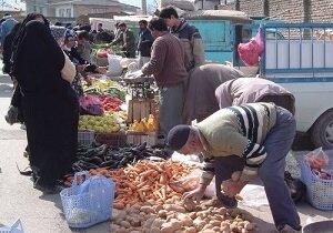 جولان کرونا در بازارهای محلی آذربایجان شرقی