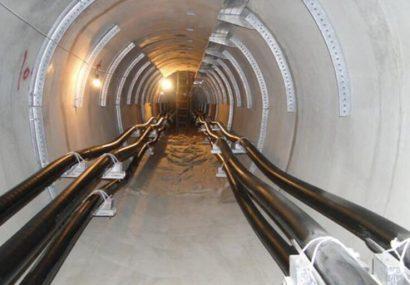 افتتاح تونل انرژی ایمنی برق تبریز را ۴۰ سال تضمین میکند