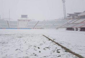 برف بازی تراکتور – سپاهان را لغو کرد