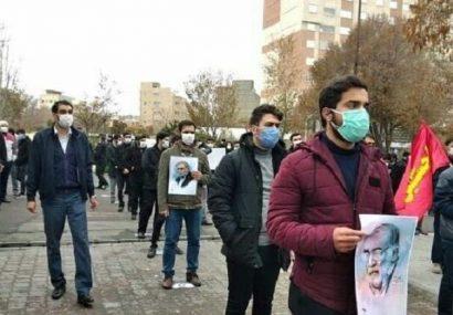 طلاب و دانشجویان تبریز ترور شهید فخری زاده را محکوم کردند