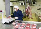 تحویل گوشت فروشگاه مرکزی کشتارگاه شهرداری تبریز درب منازل شهروندان