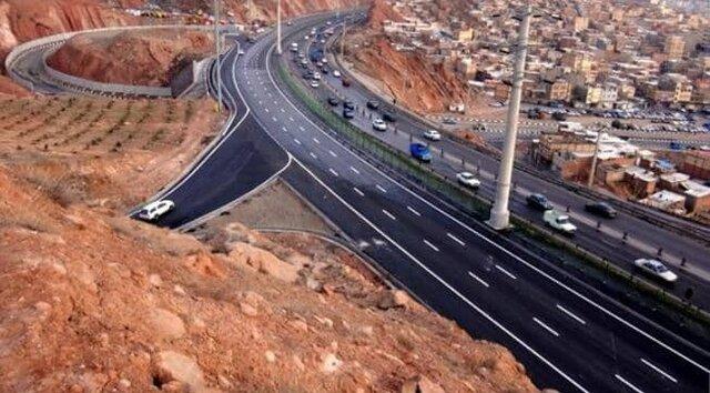 برخی مسیرهای اتوبان پاسداران تبریز فردا مسدود میشود