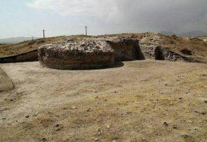 آغاز فصل چهارم کاوشهای باستانشناسی قلعه تاریخی اوجان طی سال ۱۴۰۰