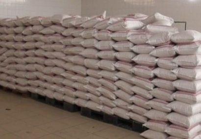 کشف ۴۲ تن آرد احتکار شده در بستان آباد