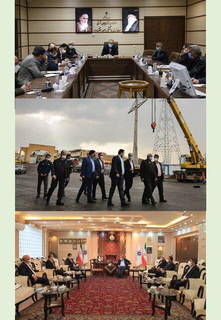 سفر دو روزه رایزنان جدید بازرگانی ایران در جمهوری آذربایجان و ارمنستان به آذربایجان شرقی