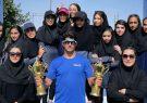 کسب ۲ کاپ کشوری توسط دختران آذربایجانشرقی