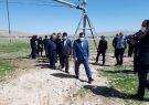طرح آبیاری نوین در شهرستان بستان آباد افتتاح شد