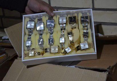 کشف ساعت قاچاق به ارزش دو میلیارد ریال در آذربایجانشرقی