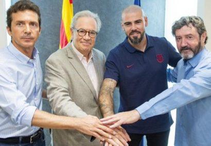 والدز رسما از مربیگری بارسلونا برکنار شد