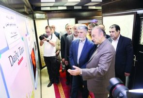 بازدید وزیر فرهنگ و ارشاد اسلامی از موزه بینالمللی مطبوعات ایران در شیراز